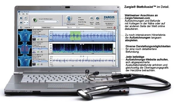 Zargis® StethAssist® Software